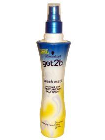 Schwarzkopf got2b Beach Matt Texturising Salt Spray 200ml