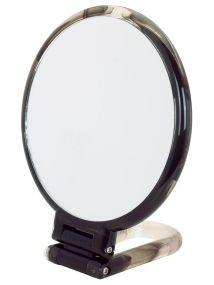 Danielle Hand Held Swirl Grey Mirror Style No. D1067GR