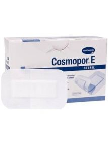 Cosmopor E dressing 10X35cm absotbent perforated adhesive dressing Pack of 25