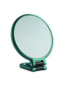 Danielle Hand Held Soft Touch EMERALD Mirror Style No. D1067EM