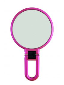 Danielle Hand Held Soft Touch VINTAGE ROSE Mirror Style No. D1067VR