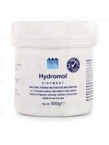 Hydromol Ointment 500g, for eczema,psoriasis & dry skin
