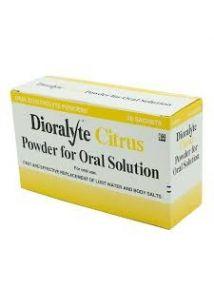 Dioralyte Citrus Oral Electrolyte Powder - 20 Sachets