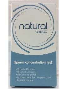 Natural Check Sperm Concentration Test  For In Vitro Diagnostic Use Only