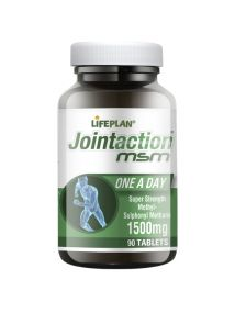 Lifeplan Jointaction Super Strength MSM 1500mg 90 Tablets