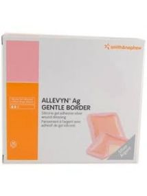 Allevyn AG Gentle Wound dressing 20cm x 20cm Pack of 10