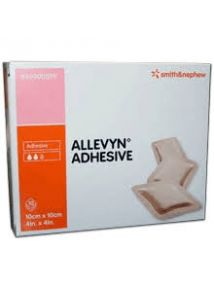 Allevyn Adhesive Hydrocellular wound dressing 7.5 x 7.5cm  Pack of 10