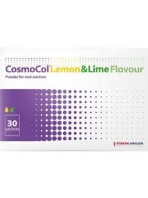 Cosmocol sachet Lemon & Lime Pack of 30