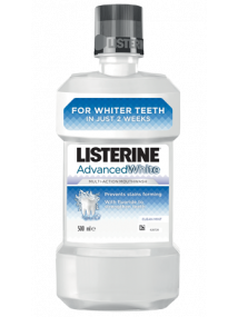 Listerine Advanced White Mouthwash