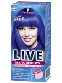 Schwarzkopf Live Semi Permanent Color Ultra Brights 95 Electric Blue