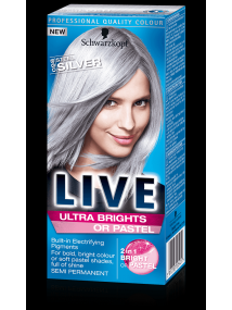 Schwarzkopf Live Semi Permanent Color Ultra Brights 98 Steel Silver