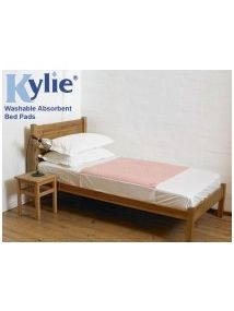 KYLIE bed pad  91cmx91cm reusable and washable