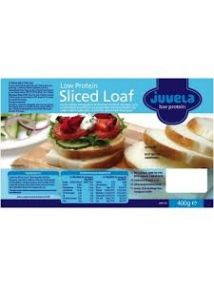 Juvela Low Protein Loaf Sliced 400g