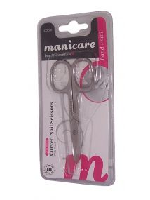 Manicare Beauty Essentials Extra Strong Nail Scissors Curved