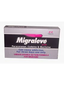Migraleve Pink Double Action Formula for Migraine 24 Tablets