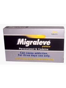 Migraleve Yellow Continued Relief from Migraine 24 Tablets