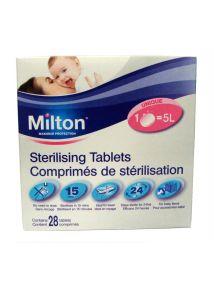 Milton Sterilising Tablets x 28