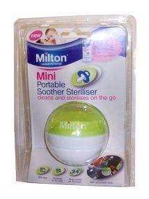 Milton Mini Portable Soother Steriliser (Green)