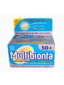Multibionta 50+ Probiotic Multivitamin Tablets x60