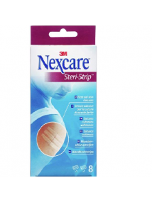 Nexcare steri-strip first aid skin closures two sizes 8 pack