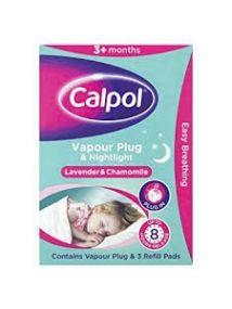 calpol vapour plug & nightlight lavender & chamomile