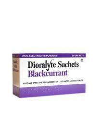 Dioralyte Blackcurrant Oral Electrolyte Powder - 20 Sachets