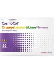 Cosmocol sachet orange lemon and lime flavour  pack of 20