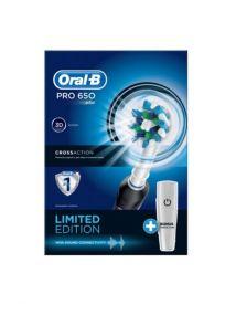 Oral B Pro 650 Black Power CrossAction Toothbrush