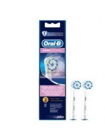 Oral B Sensi UltraThin Brush Heads x2