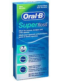 Oral B Dental Floss Superfloss 50