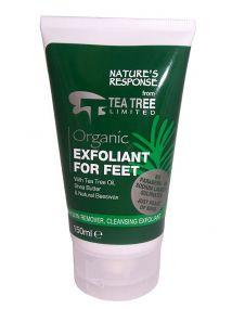 Tea Tree Organic Exfoliant for Feet 150ml