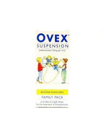 Ovex Suspension Mebendazole (6 Single Doses)