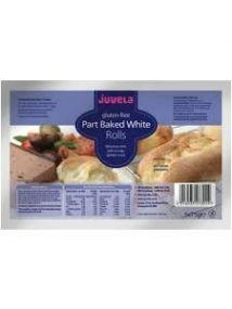 Juvela Gluten-free Part-baked Rolls Original 75g 5 Pack