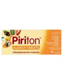 Piriton Allergy Tablets 4mg 30 Pack