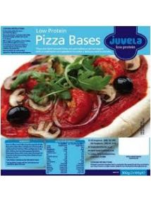 Juvela Low Protein Pizza Bases 180g 2 Pack
