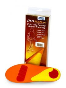 Pro-Nation Pain Relieving Orthotic Insoles Medium