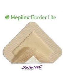 Mepilex Border Lite Soft silicone foam dressing 5 cm x 12.5cm  Pack of 10