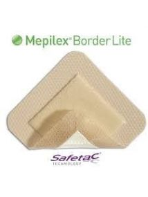 Mepilex Border Lite Soft silicone foam dressing 7.5cm x 7.5cm  Pack of 10