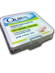 Quies Protection Auditive Earplugs - 8 Pairs