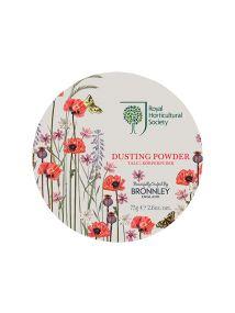 Bronnley RHS Poppy Meadow Dusting Powder 75g