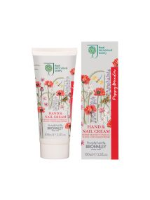 Bronnley RHS Poppy Meadow Hand & Nail Cream Tube 100ml