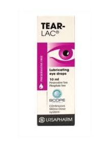 Tear-Lac soothing eye drops 10ml,preservative free