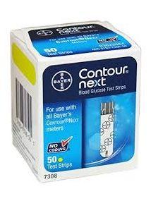 Contour next test strips pack of 50 diabetes testing