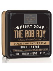 The Scottish Fine Soaps Whisky Soap THE ROB ROY Soap in a TIN 100G