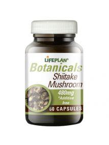 Lifeplan Shiitake Mushroom 480mg 60 Capsules