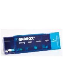 Anabox daily pillbox sky blue colour