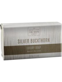The Scottish Fine Soaps Company Silver Buckthorn Luxury Soap 220gm
