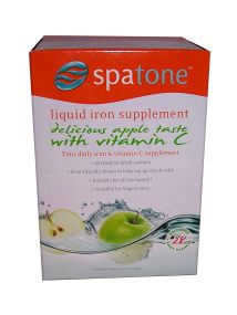 Spatone Liquid Iron Supplement With Vitamin C 28 Daily Sachets