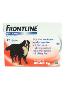 Frontline Spot On X Large Dog Pipettes 3 Pack