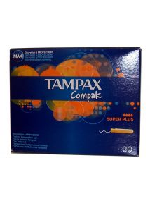 Tampax Compak Super Plus x 20